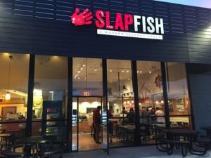 Slapfish Restaurant Entrance