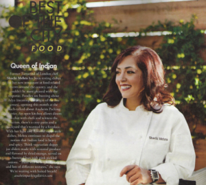Shachi Mehra, Executive Chef and Owner