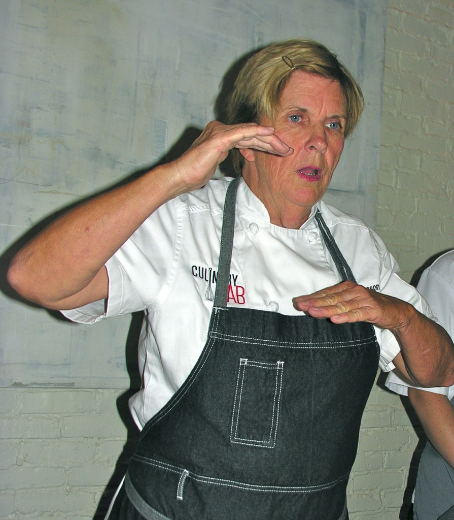Pastry Chef Instructor Colleen Johnson